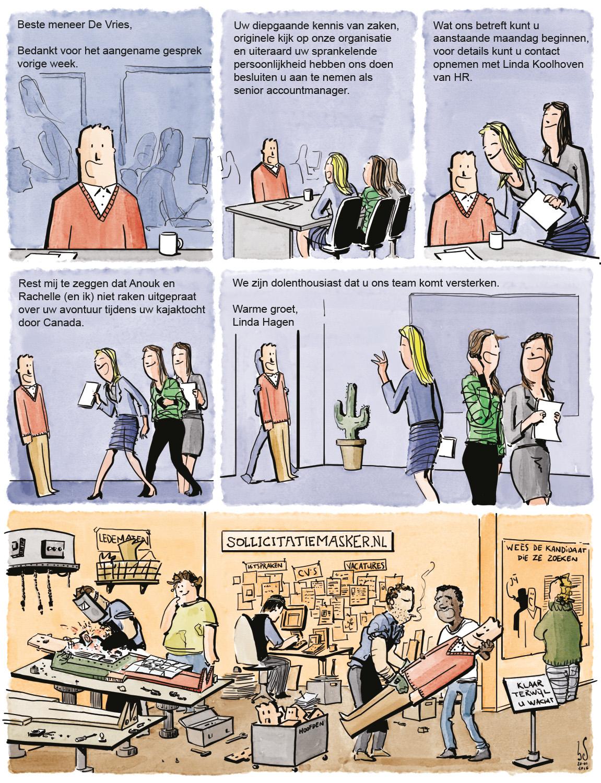 Job Interview - comicsperimenter haes