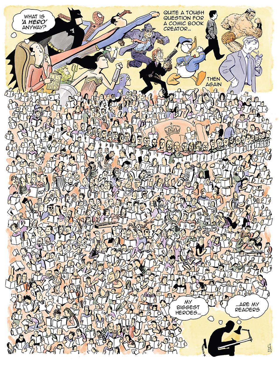 fullest comic panel ever drawn